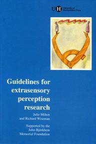 Guidelines for Extrasensory Perception Research